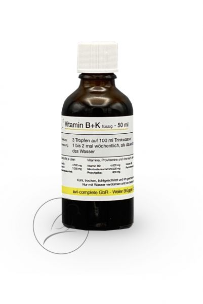 avi-complete Vitamin B+K 50 ml